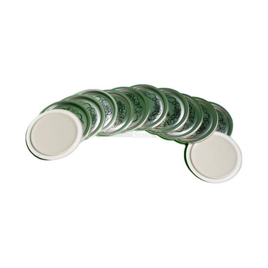 Offerte pazze Comparatore prezzi  Confezione 12 Coperchietti Per Vasi In Vetro Da Sottovuoto  il miglior prezzo