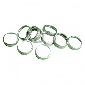 Confezione 12 Ghiere per vasi in vetro da sottovuoto