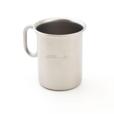 """Coppa gelato """"ice"""" in acciaio inox Ø75 mm con manico h 100 finitura sabbiata"""