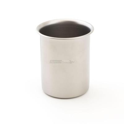 "Coppa gelato ""ice"" in acciaio inox Ø75 mm h100 finitura sabbiata"