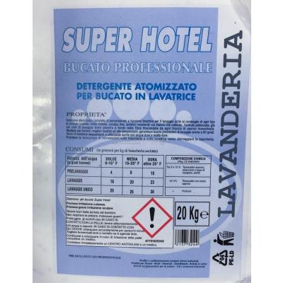 """Detersivo Lavatrice in Polvere """"Super Hotel"""" sacco da 20 Kg."""