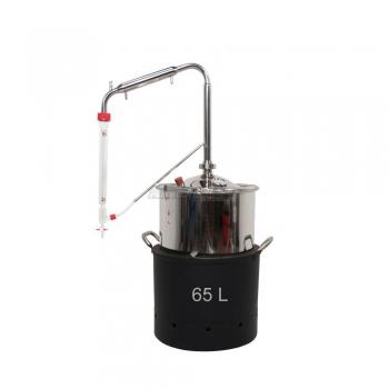 Estrattore di Oli essenziali da 65 a 250 Litri Plus con Intercapedine