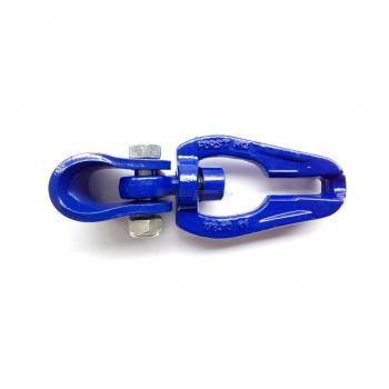 Gancio scorrifune gir. GR100 catena 10 mm blu