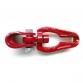 Gancio scorrifune gir. GR80 catena 7-8 mm rosso
