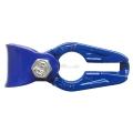 Gancio scorrifune GR100 catena 10 mm blu