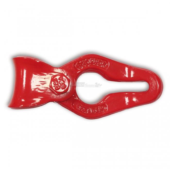 Gancio scorrifune GR80 catena 7-8 mm rosso
