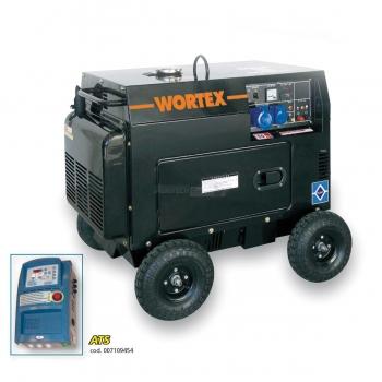 Generatore monofase Diesel Wortex HW 5000 E Kw 4,5