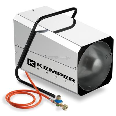 Generatore di aria calda a Gas Kemper QT 102R Inox