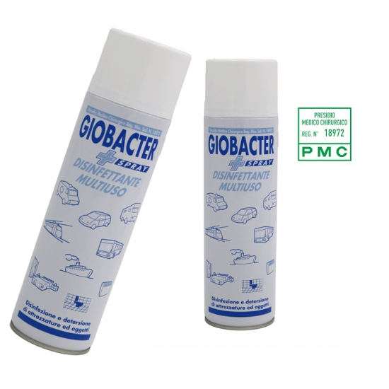 Giobacter Spray Disinfettante Multiuso 500 Ml