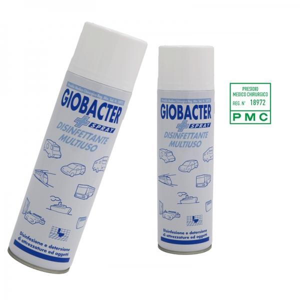 Giobacter Spray Disinfettante multiuso 500 ml.