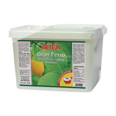 GRAN FERRO CHELATO DI FERRO Concime NK 3.15 con Ferro EDDHA (2,5)