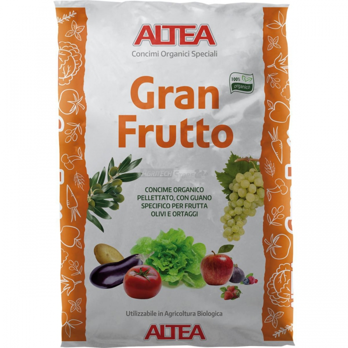 Gran Frutto Concime Organico Speciale Kg. 25
