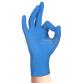 Guanto In Nitrile monouso senza polvere Skin Blu 100 pz. colore Azzurro