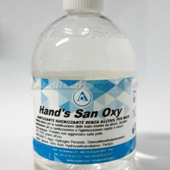 Handsan Oxy Gel Igienizzante Per Mani 500 Ml
