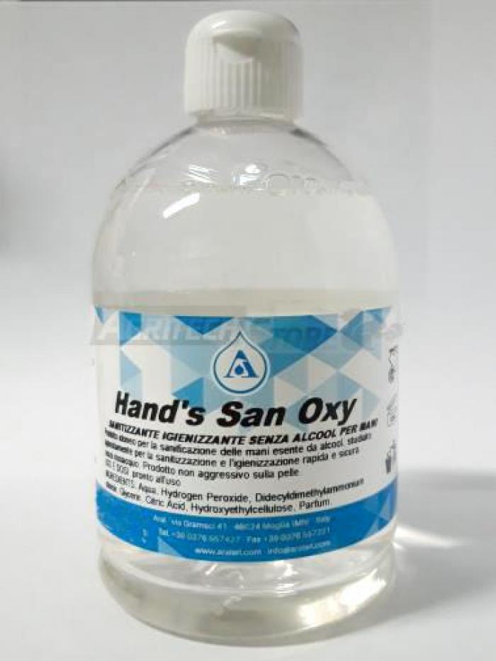 HAND'SAN OXY Gel Igienizzante per mani 500 ml.
