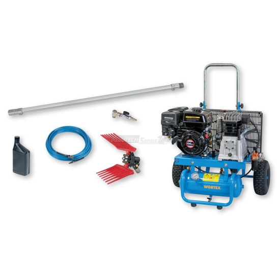 Kit Single Compressore Completo Di 1 Abbacchiatore