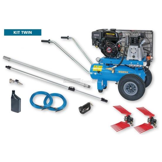 Kit Twin Compressore Completo Di 2 Abbacchiatori