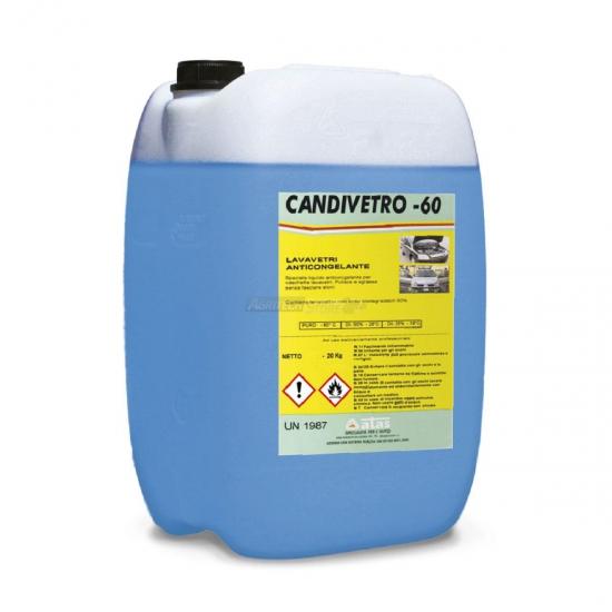 Lavavetri Anticongelante Candivetro 60 Tanica 20 Kg