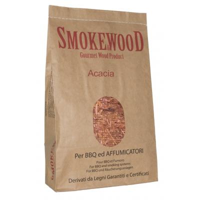 Legni selezionati di Acacia Alpina per Affumicatura