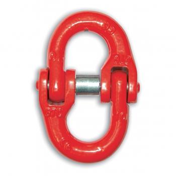 Maglia giunzione 7-8 mm GR80 W.L.L. 2000 Kg rossa