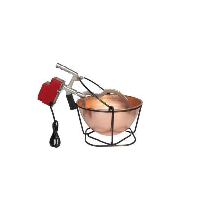 Mescolatore-Paiolo elettrico in Rame Litri 7,5
