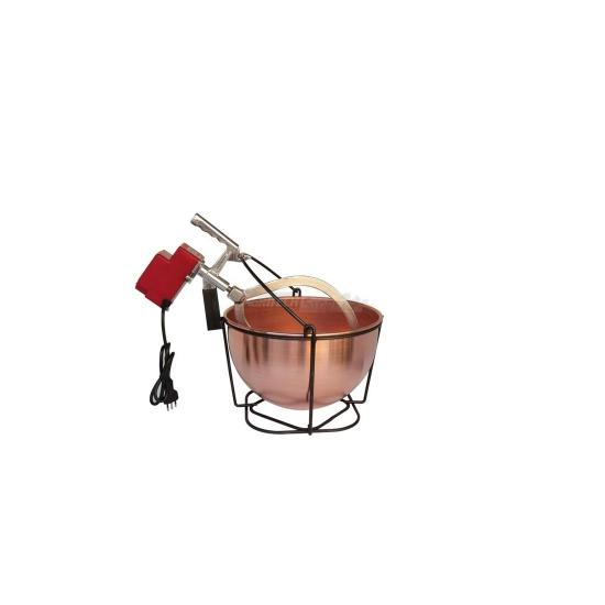 Offerte pazze Comparatore prezzi  Mescolatore Paiolo Elettrico In Rame Litri 9  il miglior prezzo