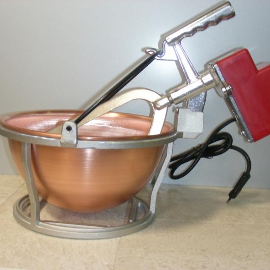 Mescolatore Paiolo Elettrico In Rame Lt45 Art0575