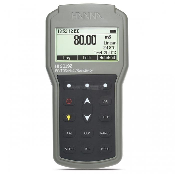 Misuratore portatile a tenuta stagna di EC/TDS/Resistività/Salinità - HI98192