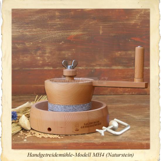 Offerte pazze Comparatore prezzi  Mulino Macinacereali Manuale A Pietra Naturale Di Granito Mh4  il miglior prezzo