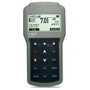 pHmetro portatile a tenuta stagna HI98190