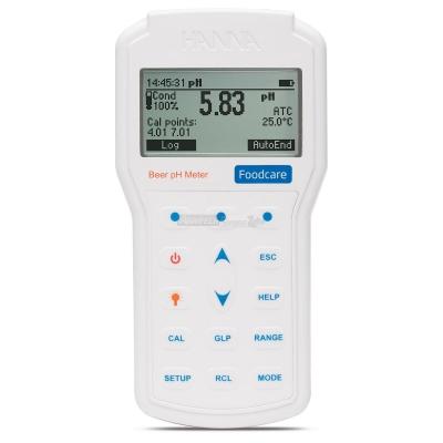 pHmetro portatile professionale per alimenti - HI98161