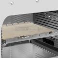 Piano in pietra refrattaria con supporto per PRO cm. 33,5x31
