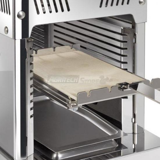 Offerte pazze Comparatore prezzi  Piano In Pietra Refrattaria Con Supporto Per Ecoair Cm 31x17  il miglior prezzo