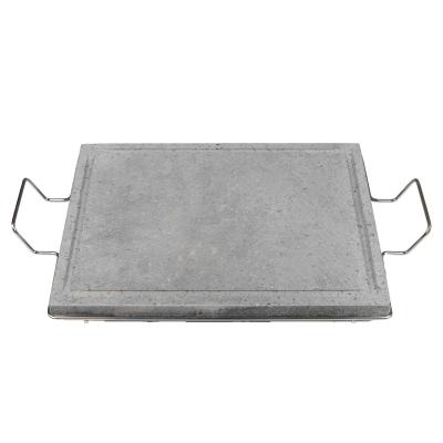 Pietra lavica cm 40x30 con supporto