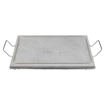 Pietra lavica cm 50x30 con supporto