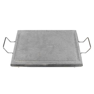 Pietra lavica cm 50x40 con supporto