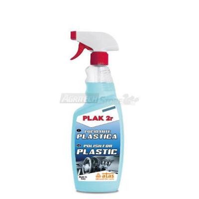 PLAK 2r Lucidante plastiche in Flacone da 750 ml.