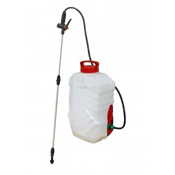 Pompa elettrica da irrorazione e diserbo 18V - 2,2 Ah - 16 litri