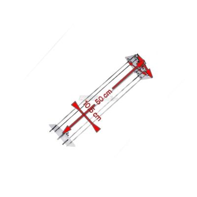 Raggiera satellitare per girarrosto 4 Lance 50 cm. 0545