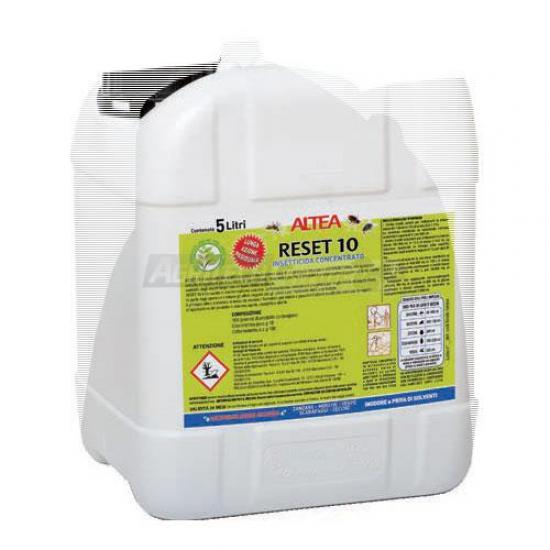 Reset 1o Insetticida Liquido Concentrato 5 Litri