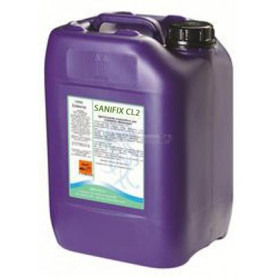 SANIFIX CL2 Detergente Cloroattivo non schiumogeno 25 Kg.