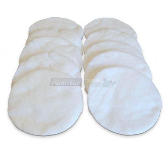 Serie Da 10 Dischi In Cotone Per Kit Filtro Olio 30 Lt