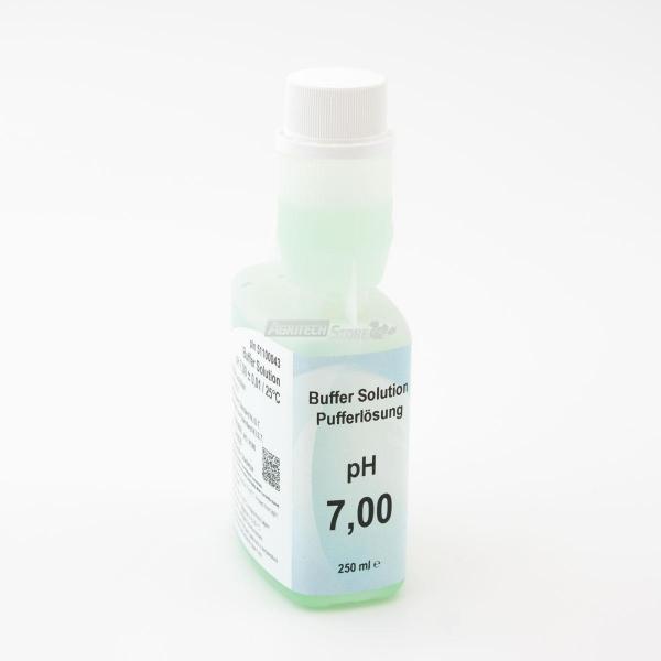 Soluzione tampone pH 7 per pHmetri Verde 250 ml.