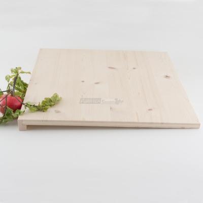 Tagliere rettangolare da impasto in Legno di Abete cm. 50x50