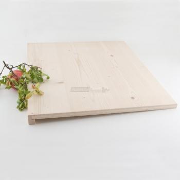 Tagliere rettangolare da impasto in Legno di Abete cm. 60x50