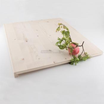 Tagliere rettangolare da impasto in Legno di Abete cm. 60x70