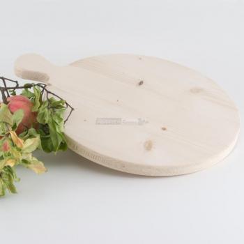 Tagliere tondo in Legno di Abete diametro cm. 30