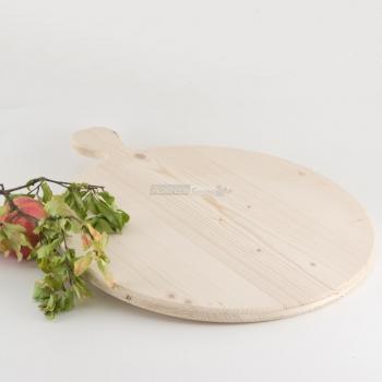 Tagliere tondo in Legno di Abete diametro cm. 40