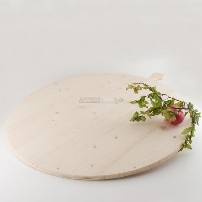 Tagliere tondo in Legno di Abete diametro cm. 80