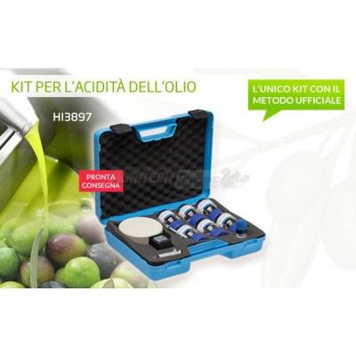 Test kit per l'acidità dell'olio extravergine di oliva HI3873